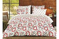 Комплект постельного белья хлопковый полуторный Shapes