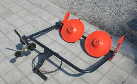 Косилка роторная ременная КР-01 ШИП кованые ножи (без ремня, для МБ с водяным охлаждением), фото 2