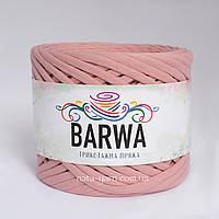 Barwa трикотажна пряжа 7-9 мм Рожева Пудра