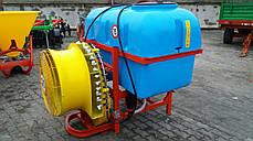 Опрыскиватель садовый с пластмассовыми форсунками Jar Met 800 л (Польша), фото 3