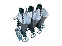 "Сажалка для чеснока 3М ""Ярило"" с бункерами для удобрений (3-рядная, для мотоблока), фото 2"