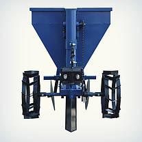 Картофелесажалка Премиум для мототрактора (60 л, бункер для удобрений), фото 3