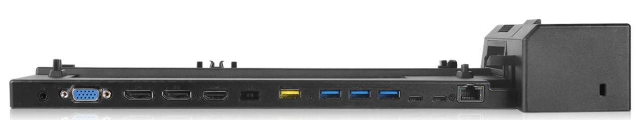 Док-станцiя Lenovo ThinkPad Ultra Docking Station 135W Чорний (40AJ0135EU)