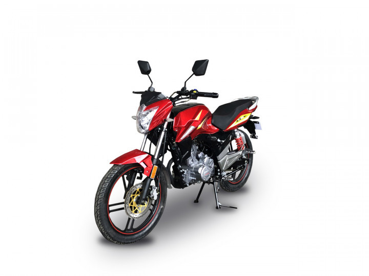 Мотоцикл HORNET GT-200 (200 куб. cм) бордово-красный