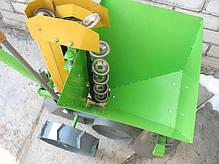 Картофелесажалка Протек КСМ-2 с транспортировочными колесами, фото 3