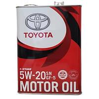 Моторное масло Toyota Motor Oil 5W-20 4л