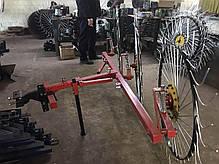 Сеноворошилка Солнышко на 3 колеса ТМ АРА (3 точки, мототрактор), фото 3