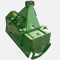 Почвофреза 1GLN-140 ДТЗ (сплошная ось, боковой шестеренчатый редуктор, 6 ножей на диске), фото 2