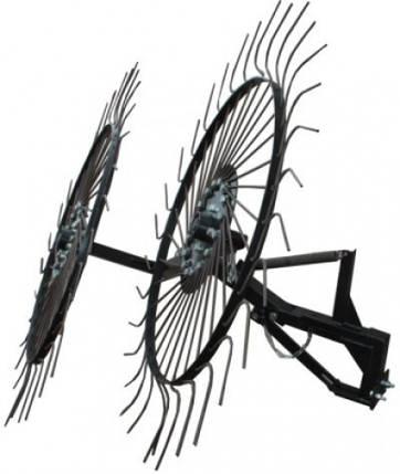 """Грабли-ворошилки солнышко большие тракторные """"Премиум"""" на 3 колеса (1,8м), фото 2"""