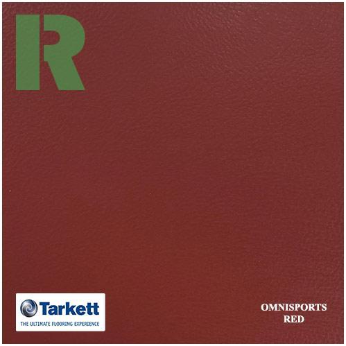 Спортивный линолеум Tarkett Omnisports V83 Red 200161005