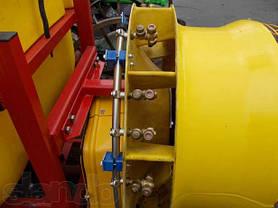 Опрыскиватель садовый с редукторным вентилятором и медными форсунками 600 л (Польша), фото 3