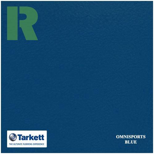 Спортивный линолеум Tarkett Omnisports V65 Royal Blue 200160003
