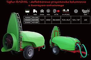 Опрыскиватель садовый Tajfun 2000/SAD/KL  Krukowiak (Польша), фото 2