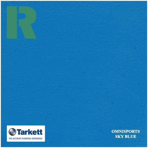 Спортивный линолеум Tarkett Omnisports V83 Sky Blue 200161004