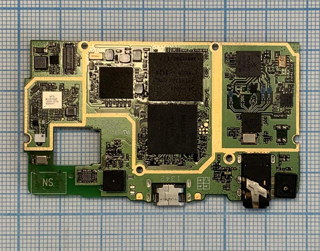 Системна плата Lenovo P780 (Не робоча) (Prada-MB-H401) б/в