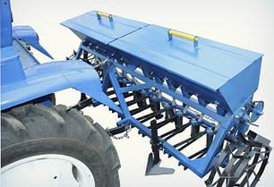 Сеялка зерновая 12-рядная для минитрактора Премиум, фото 2