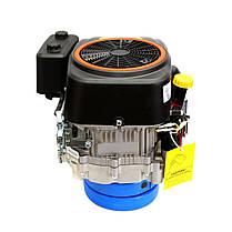 Двигатель Grünwelt GW-1P90F (вертикальный вал, 16 л.с.), фото 2