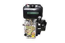 Двигатель дизельный GrunWelt GW178FE (6 л.с., шлицы), фото 2