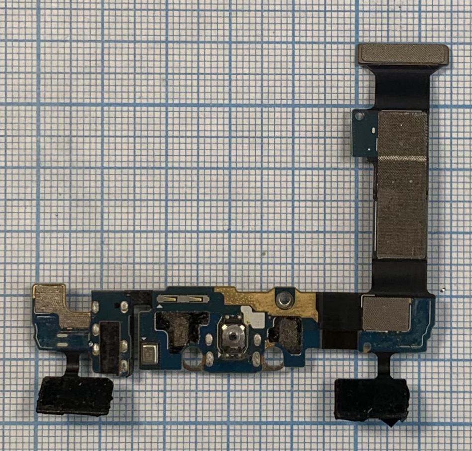 Шлейф кнопок і зарядки Samsung G928F Galagy S6 Edge Plus Original б/в