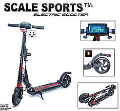 Електросамокат Scale Sports SS-01 чорний 1940098289