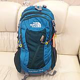 Повседневный спортивный рюкзак The North Face Blue 45 литров стильный, фото 2