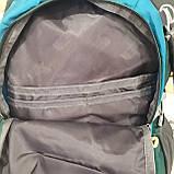 Повседневный спортивный рюкзак The North Face Blue 45 литров стильный, фото 6