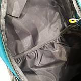 Повседневный спортивный рюкзак The North Face Blue 45 литров стильный, фото 7