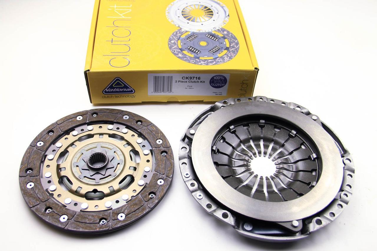 Комплект сцепления Ford Mondeo III 1.8/2.0 i 00- (228mm) NATIONAL