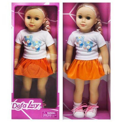 """Кукла """"DEFA"""" оранжевый 5510"""