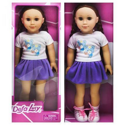 """Кукла """"DEFA"""" фиолетовый 5510"""