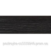 Плинтус напольный пластиковый LinePlast L025 Венге тёмный c центральным кабель-каналом