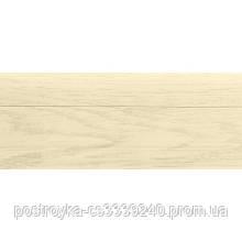 Плинтус напольный пластиковый LinePlast L026 Дуб мокко c центральным кабель-каналом