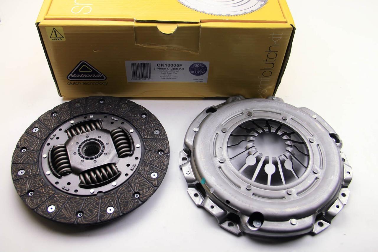 Комплект зчеплення для переобладнання Skoda Octavia 1.9-2.0 TDI 95- (240mm) (суцільний+к-кт зчеплення)