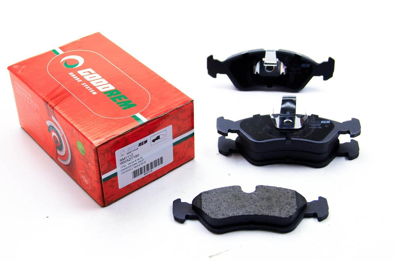 Гальмівні колодки Opel Combo -05 (ATE) GOODREM