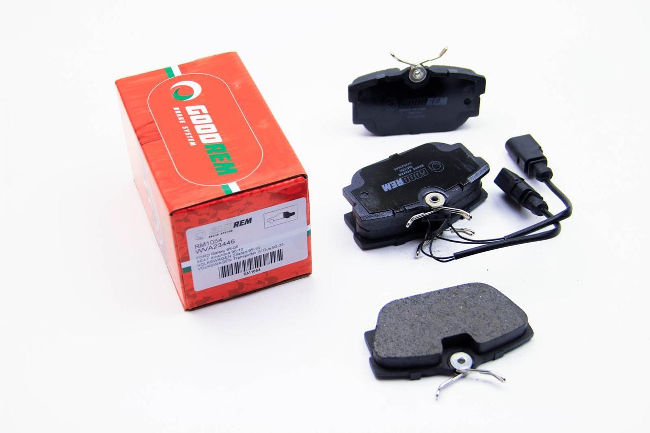 Тормозные колодки Opel Vivaro 01- (с датчиком) GOODREM