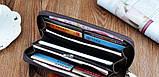Бумажник портмоне классический мужской клатч с пряжкой, фото 2