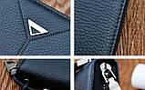 Бумажник портмоне классический мужской клатч с пряжкой, фото 5