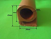 Уплотнитель термостойкий  Б-образный, фото 1