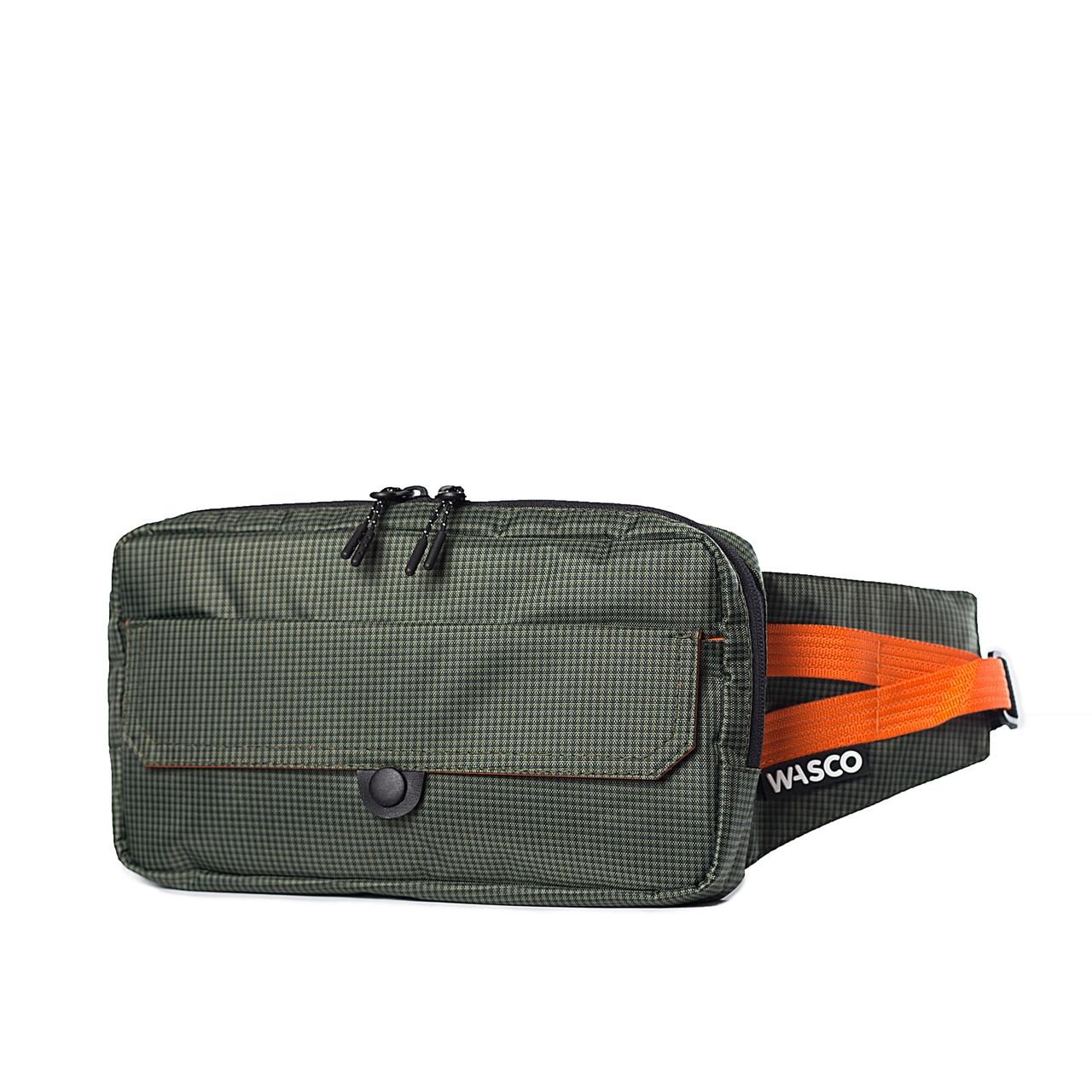 Поясная сумка Wasco G1 Хаки-Оранж