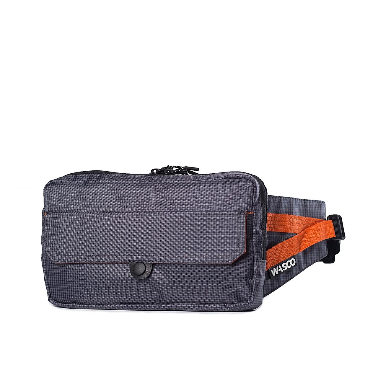 Поясная сумка Wasco G1 Серая-Оранж
