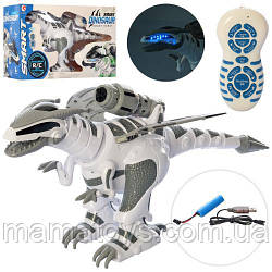Интерактивный Динозавр на Радиоуправлении 1825-12 Dinosaur Smart реагирует на прикосновения, ходит,