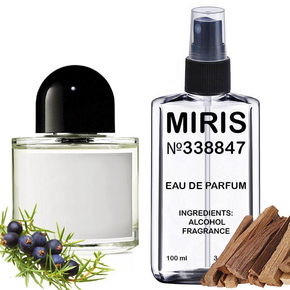 Духи MIRIS №338847 (аромат схожий на Byredo Gypsy Water) Унісекс 100 ml