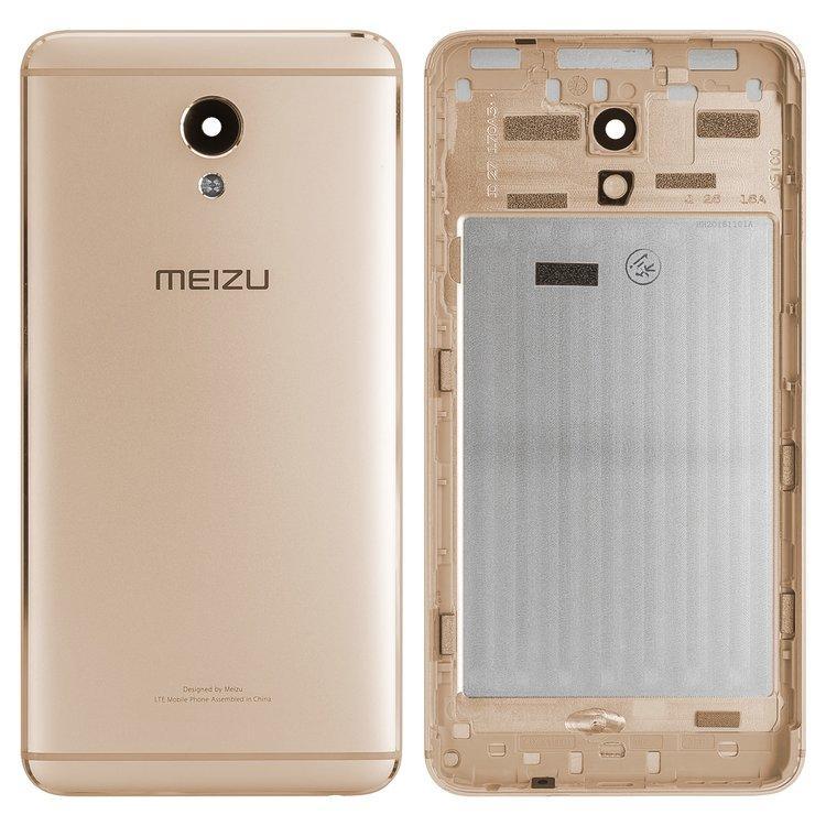 Задняя крышка Meizu M5 Note золотистая