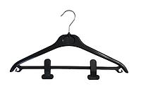Плечики для тяжёлой одежды с прищепками, фото 1