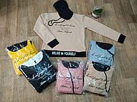 Кофта женская Худи с капюшоном ТУРЦИЯ рр s,m,l,xl цвет в ассортименте