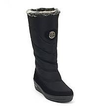 Сапоги дутики женские зимние черные Progres 1239238836, фото 2