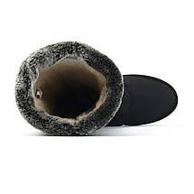Сапоги дутики женские зимние черные Progres 1239238836, фото 3