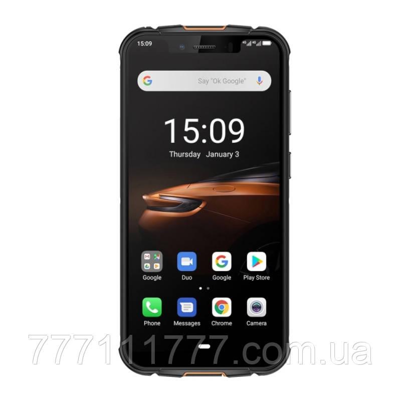 Смартфон защищенный черный с функцией нфс и беспроводной зарядкой на 2 симки UleFone Armor 5S black 4/64 NFC