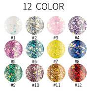 HANDAIYAN цветная блестящая с блестками жидкая подводка для глаз (цена за 1 штуку) макияж, фото 2