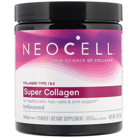 Супер Коллаген, Тип 1&3, NeoCell, 7 унций (198 гр), фото 2